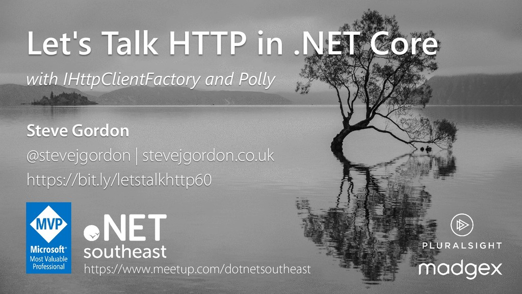 @stevejgordon Let's Talk HTTP in .NET Core with...