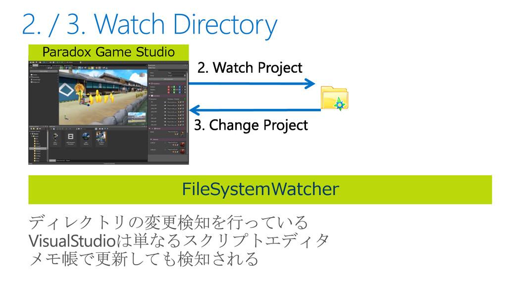 Paradox Game Studio FileSystemWatcher