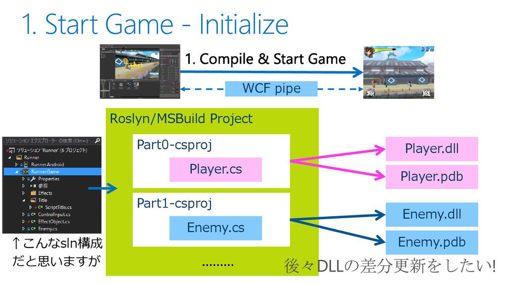 Roslyn/MSBuild Project Part0-csproj Player.cs P...