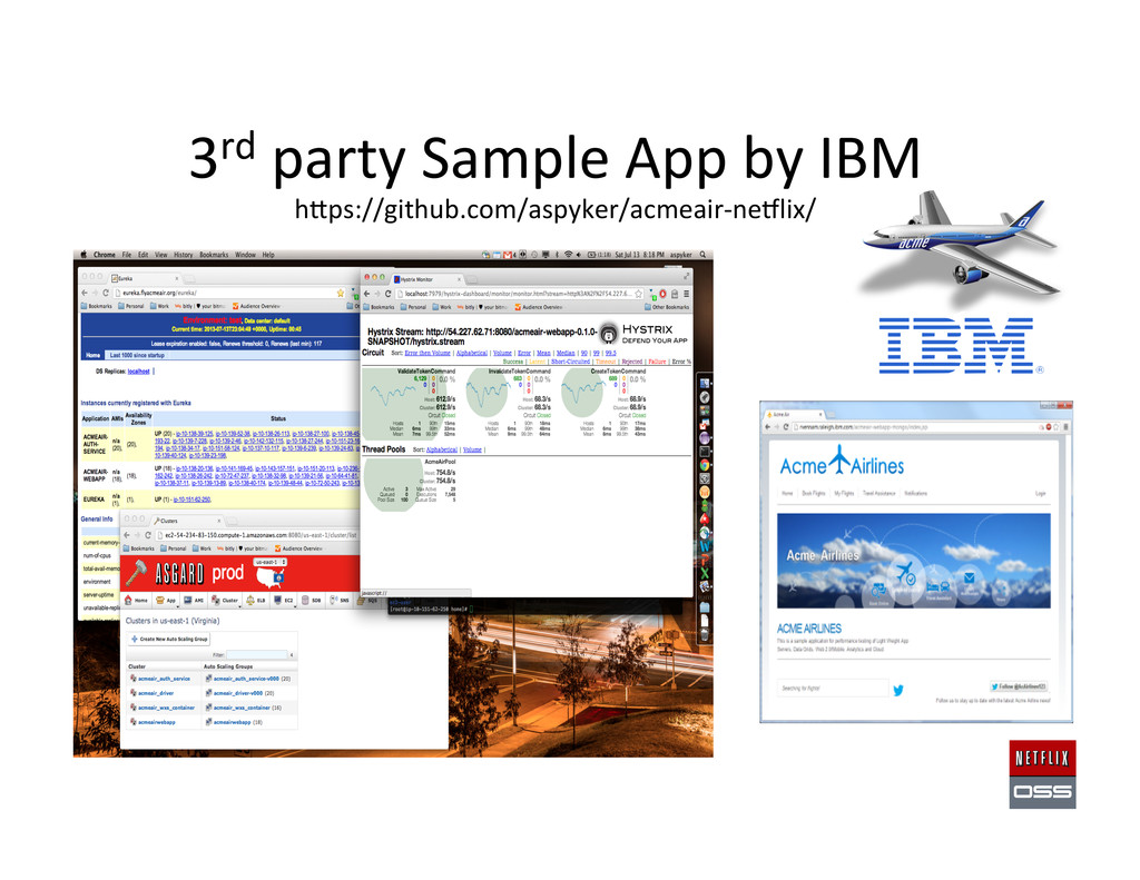 3rd party Sample App by IBM  ...