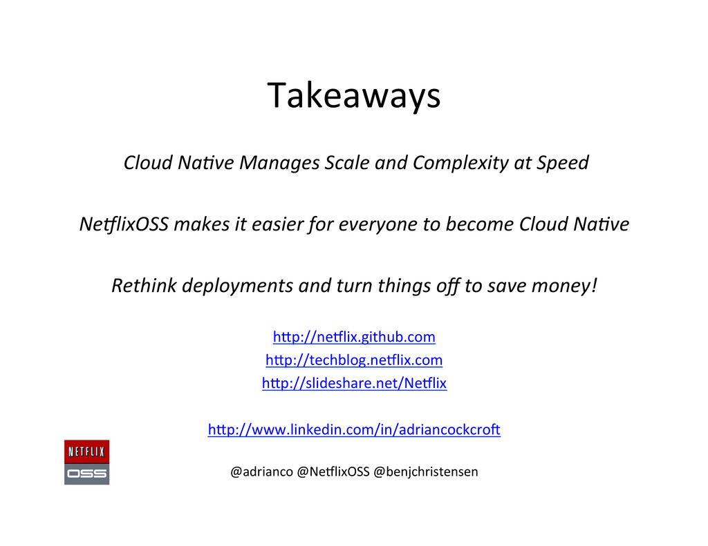 Takeaways   Cloud Na1ve Manages ...