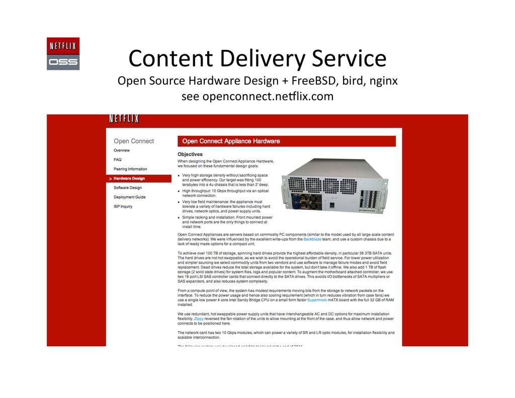 Content Delivery Service  Open Sour...