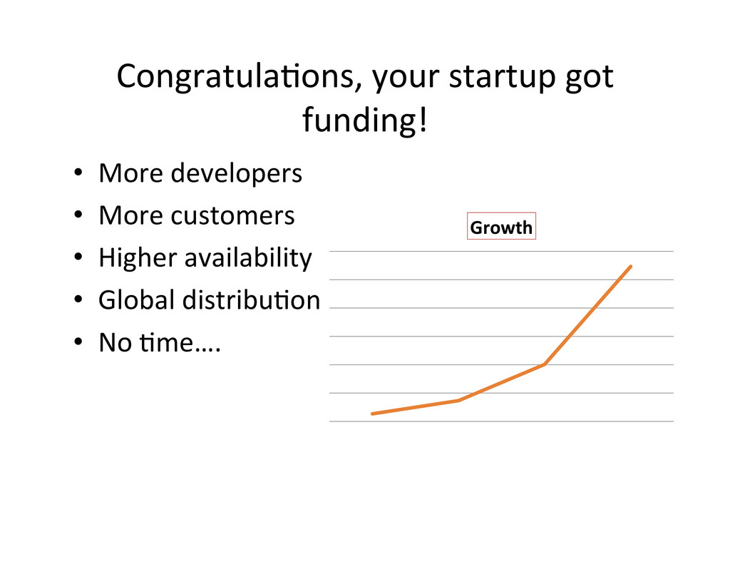Congratula,ons, your startup got  f...