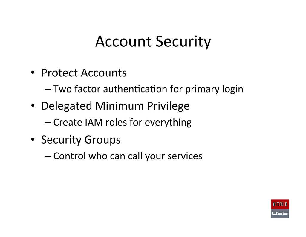 Account Security  • Protect Accounts...