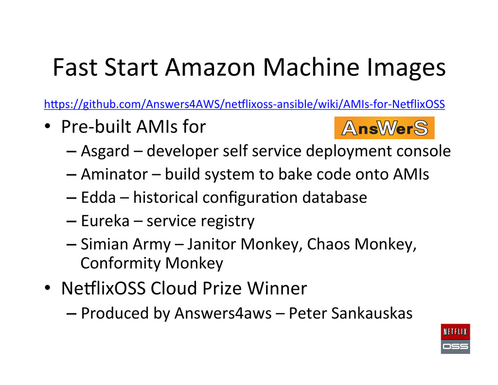 Fast Start Amazon Machine Images ...