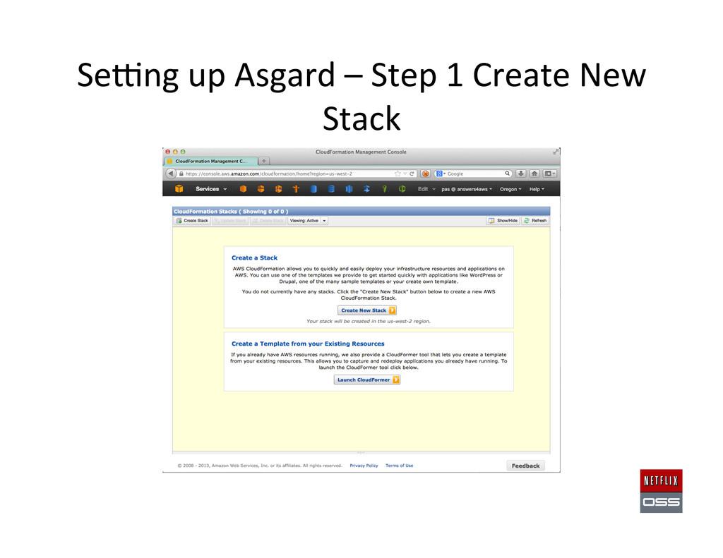 Sewng up Asgard – Step 1 Crea...