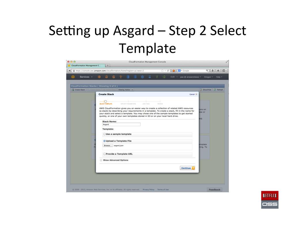 Sewng up Asgard – Step 2 Sele...