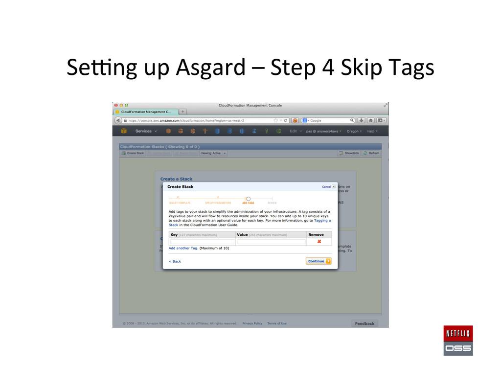 Sewng up Asgard – Step 4 Skip...