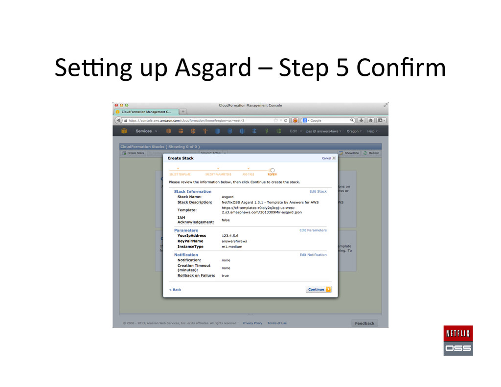 Sewng up Asgard – Step 5 Confi...