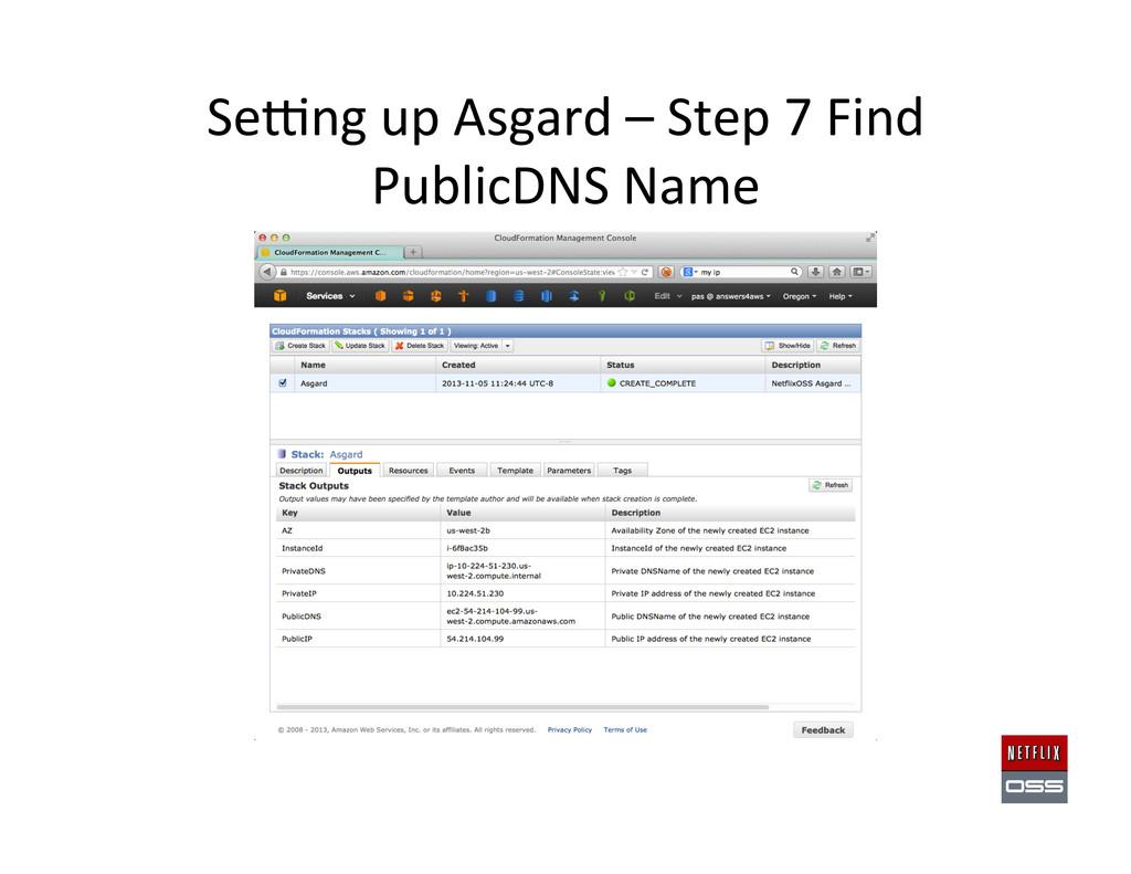 Sewng up Asgard – Step 7 Find...