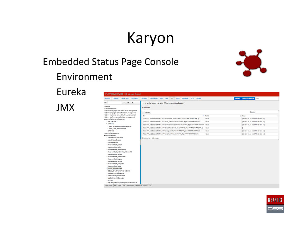 • Embedded Status Page Console  o...