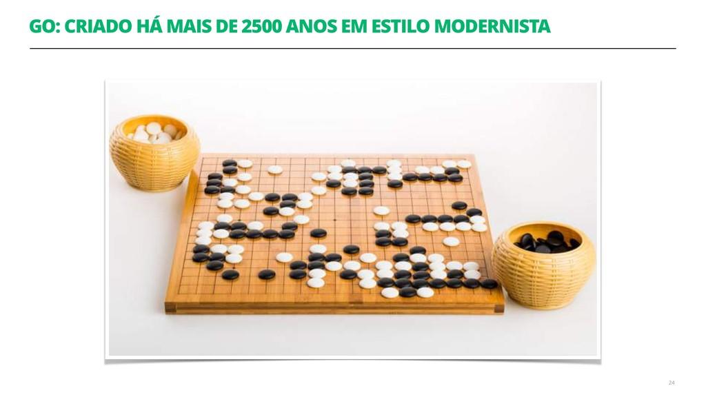 GO: CRIADO HÁ MAIS DE 2500 ANOS EM ESTILO MODER...