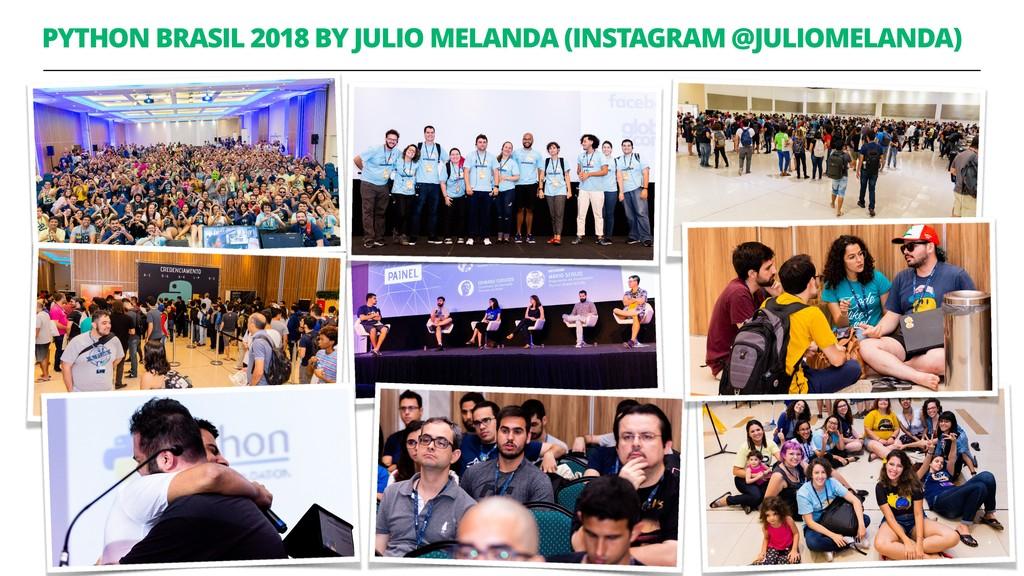 PYTHON BRASIL 2018 BY JULIO MELANDA (INSTAGRAM ...