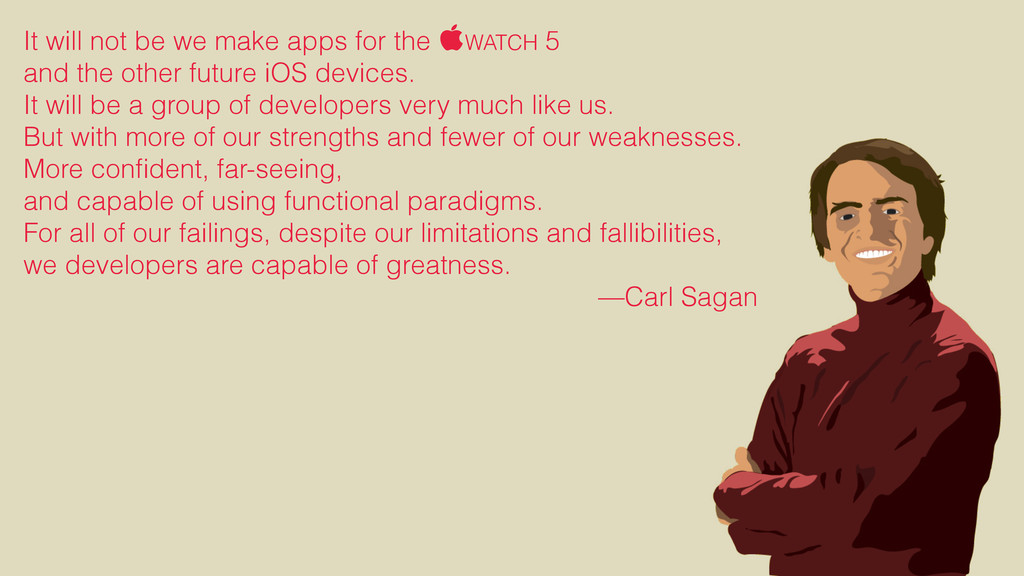 It will not be we make apps for the WATCH 5 an...