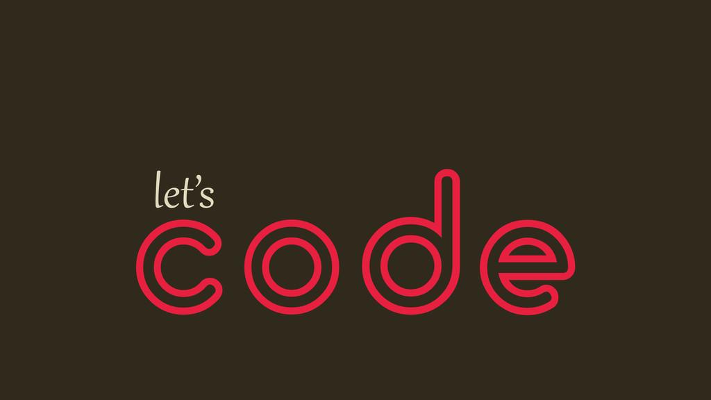 code let's