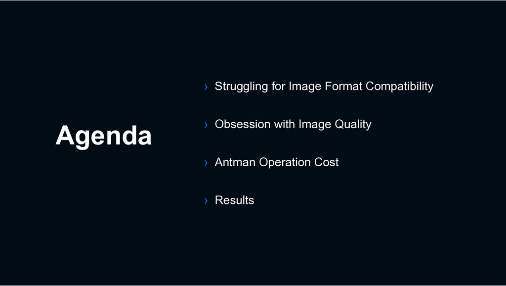 Agenda › Struggling for Image Format Compatibil...