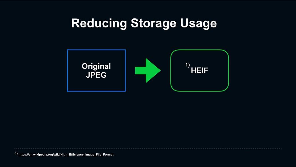 Original JPEG Reducing Storage Usage HEIF 1) ht...