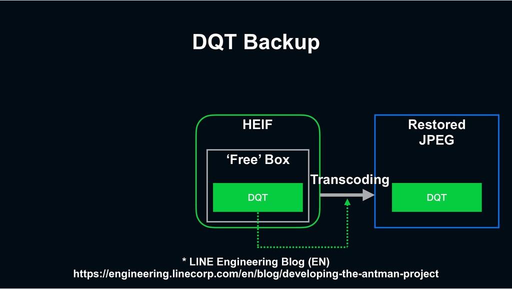 HEIF DQT Backup 'Free' Box %25 Restored JPEG %2...