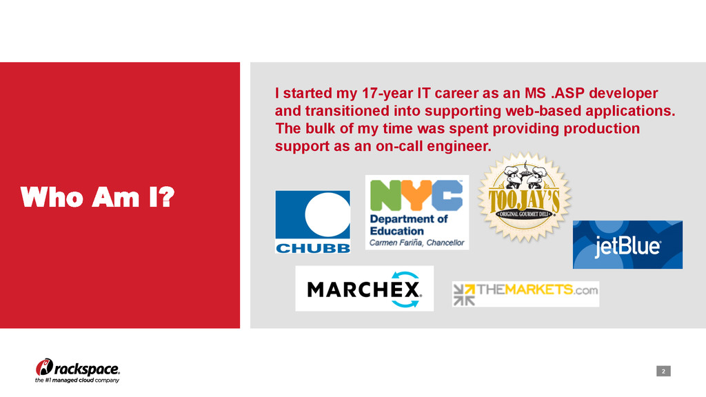 2 I started my 17-year IT career as an MS .ASP ...