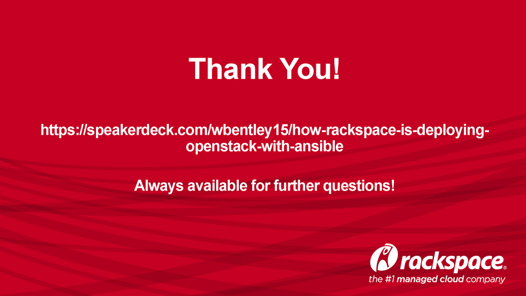 Thank You! https://speakerdeck.com/wbentley15/h...