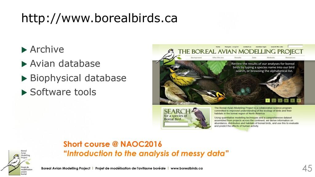http://www.borealbirds.ca u Archive u Avian d...