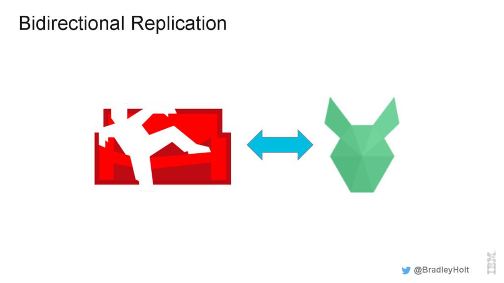 Bidirectional Replication @BradleyHolt