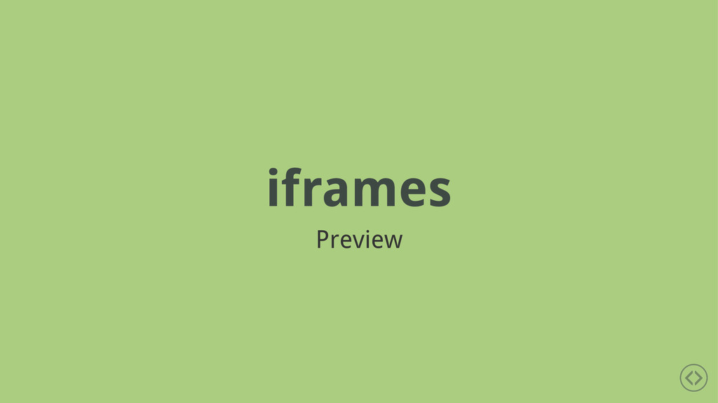 iframes Preview