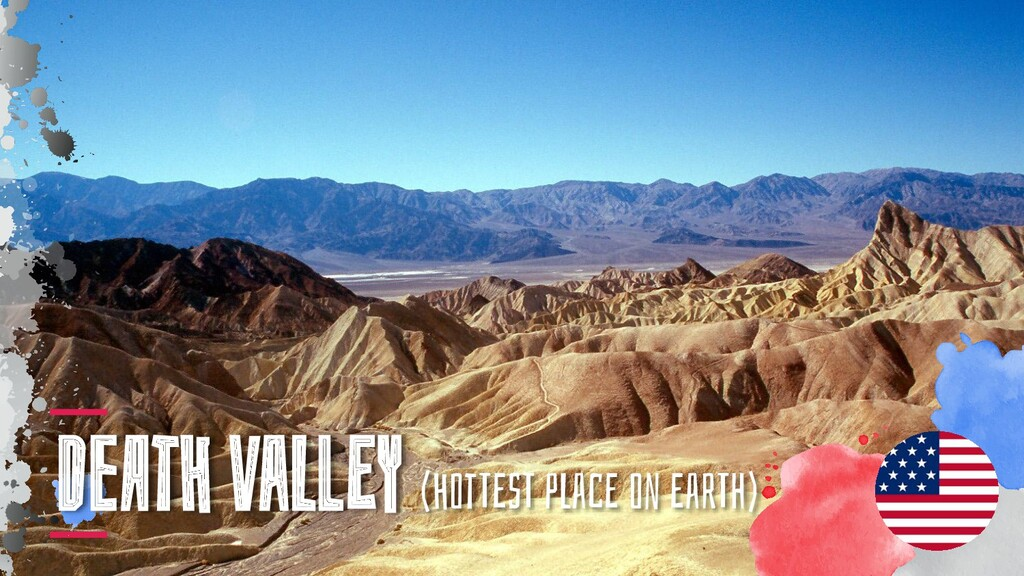 DeAtH vaLlEY (HotTEsT pLacE on EarTh)
