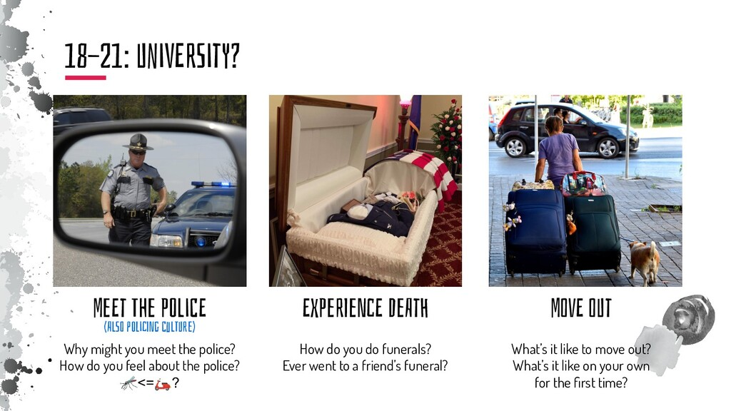 MeEt The POliCE Why might you meet the police? ...