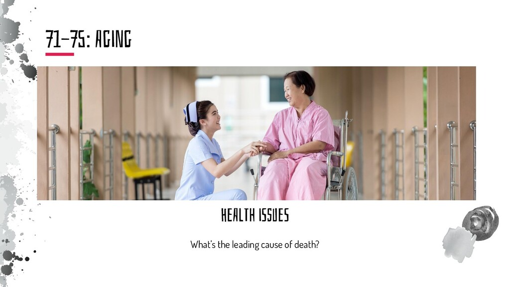 HeAlTh iSsUeS What's the leading cause of death...