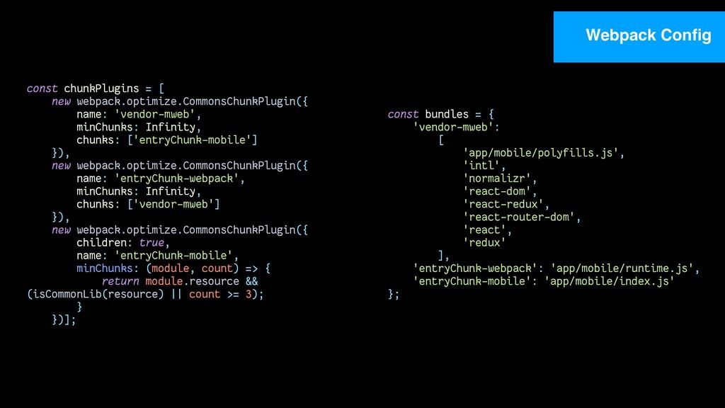 const chunkPlugins = [ new webpack.optimize.Com...