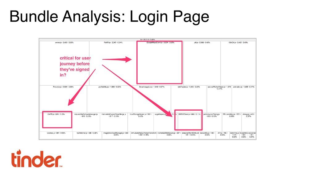 Bundle Analysis: Login Page