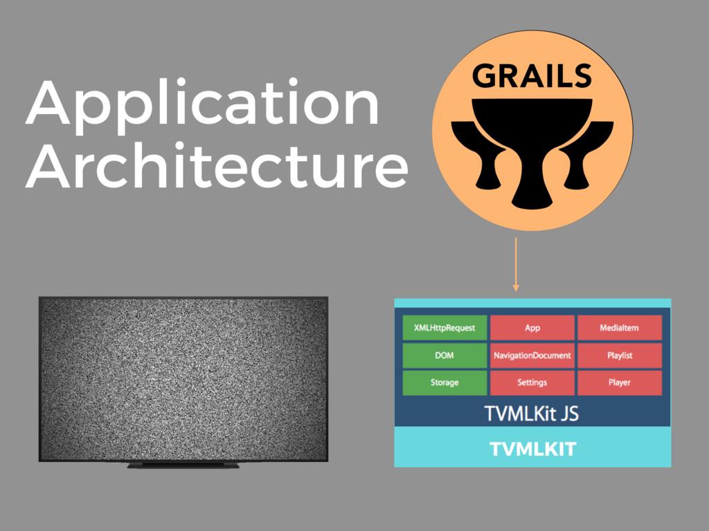Application Architecture TVMLKIT
