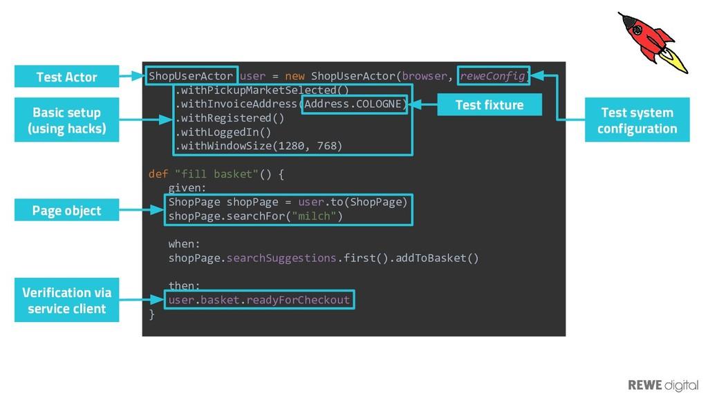 ShopUserActor user = new ShopUserActor(browser,...