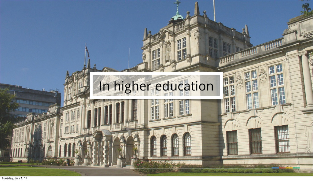 In higher education Tuesday, July 1, 14
