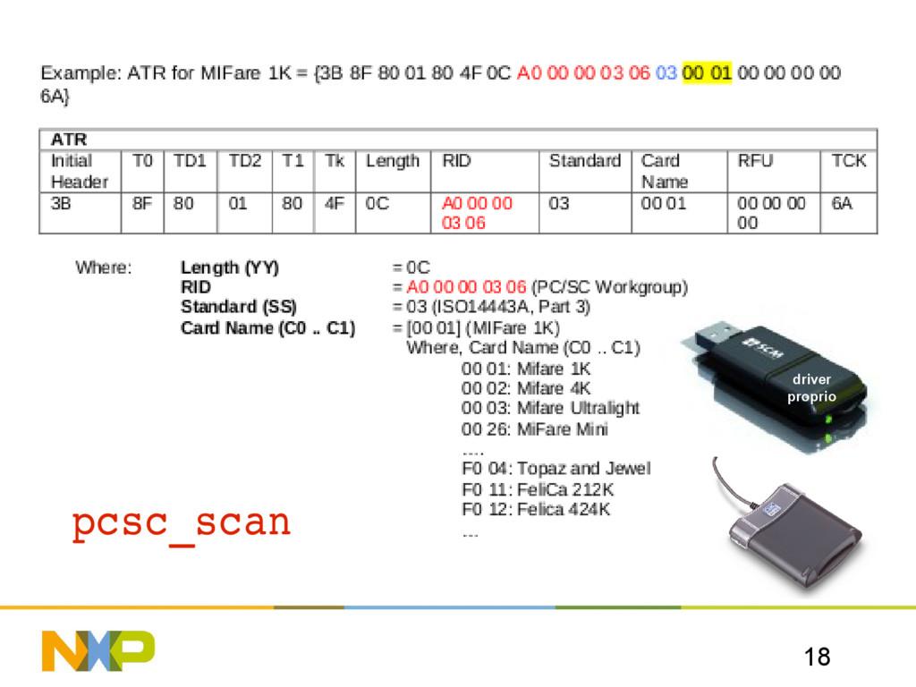 18 pcsc_scan driver proprio