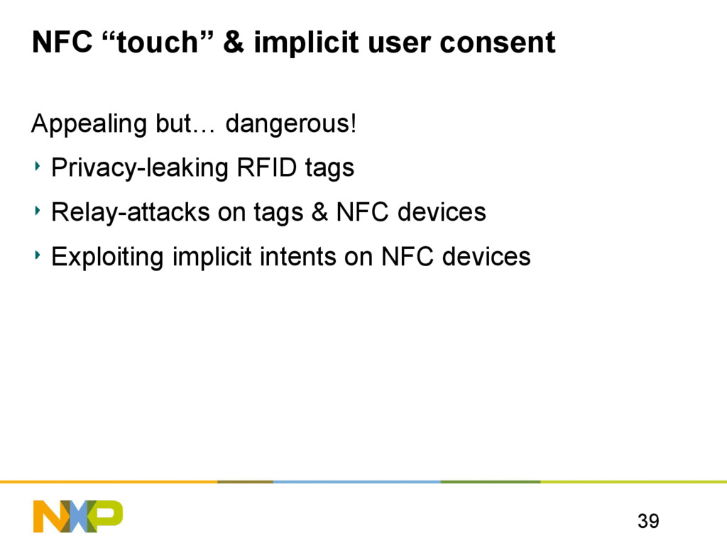 """39 NFC """"touch"""" & implicit user consent Appealin..."""
