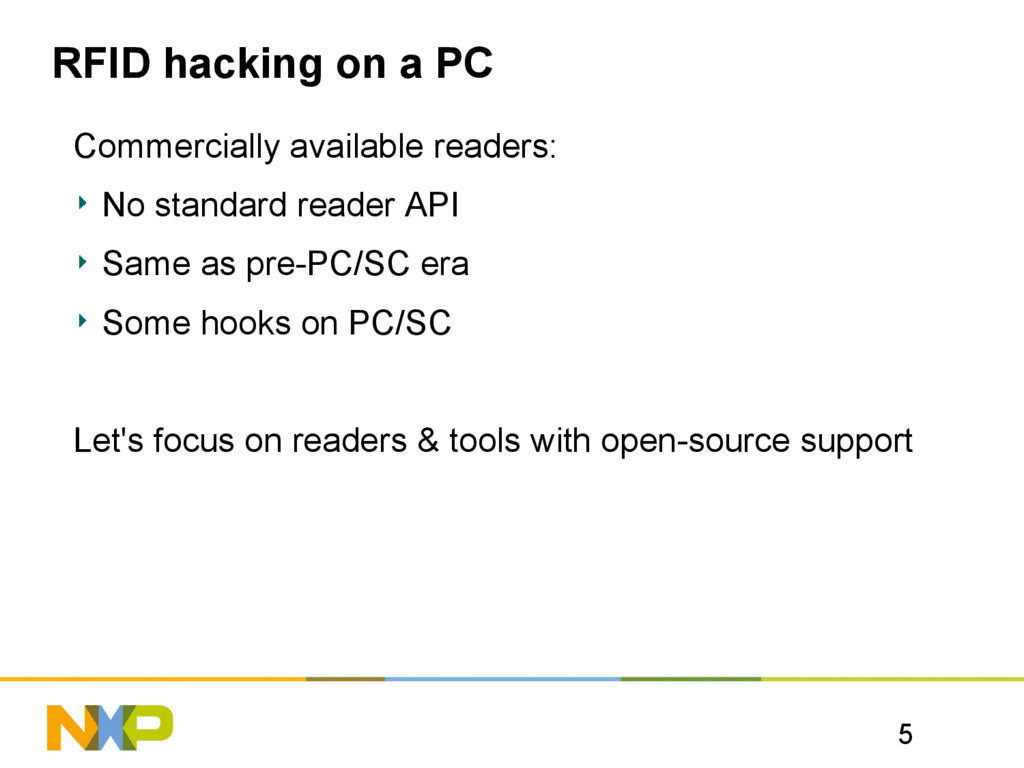 5 RFID hacking on a PC Commercially available r...