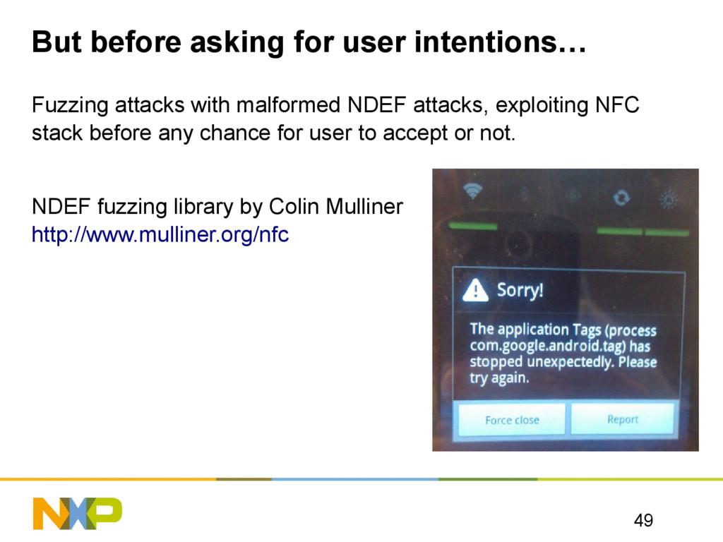 But before asking for user intentions… Fuzzing ...