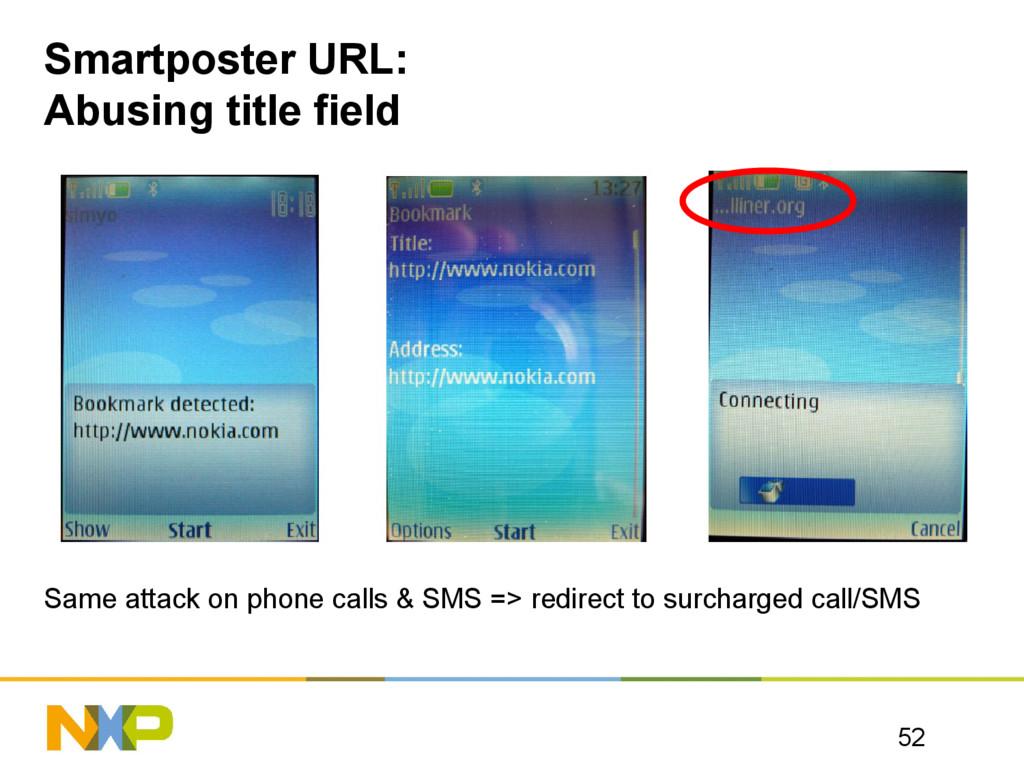 Smartposter URL: Abusing title field Same attac...