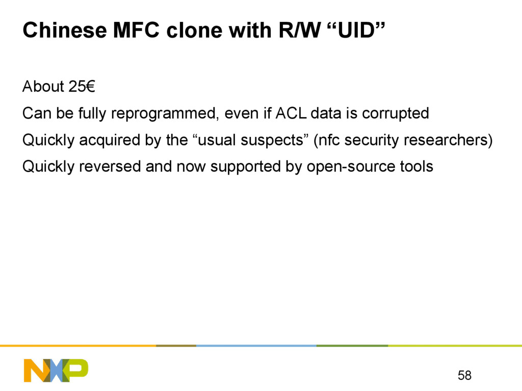 """Chinese MFC clone with R/W """"UID"""" About 25€ Can ..."""