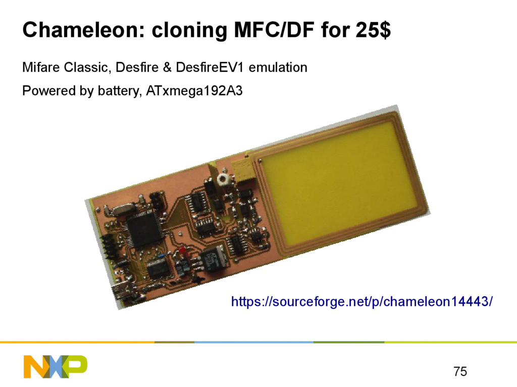 Chameleon: cloning MFC/DF for 25$ Mifare Classi...