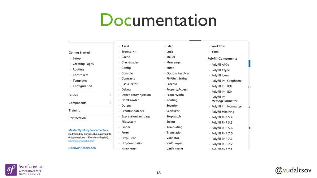 @vudaltsov Documentation 18