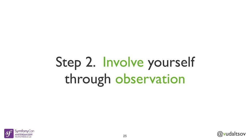 @vudaltsov Step 2. Involve yourself through obs...