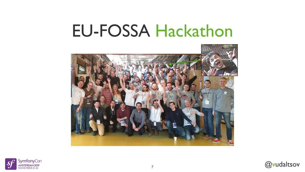 @vudaltsov EU-FOSSA Hackathon 7