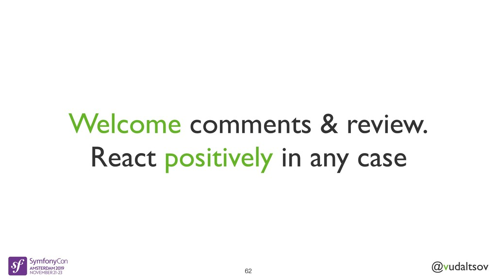 @vudaltsov Welcome comments & review. React pos...