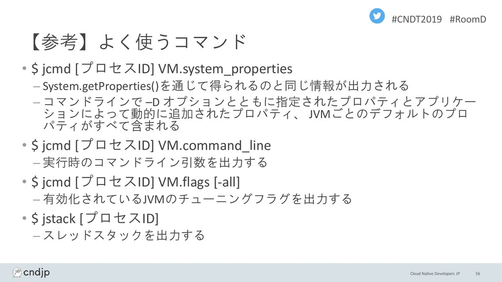 Cloud Native Developers JP #CNDT2019 #RoomD 【参考...