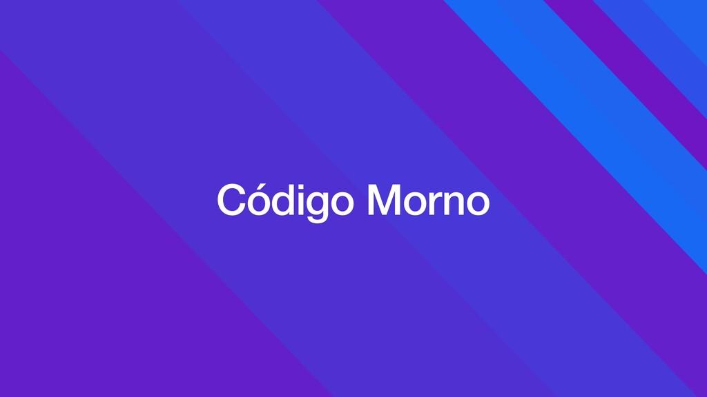 Código Morno