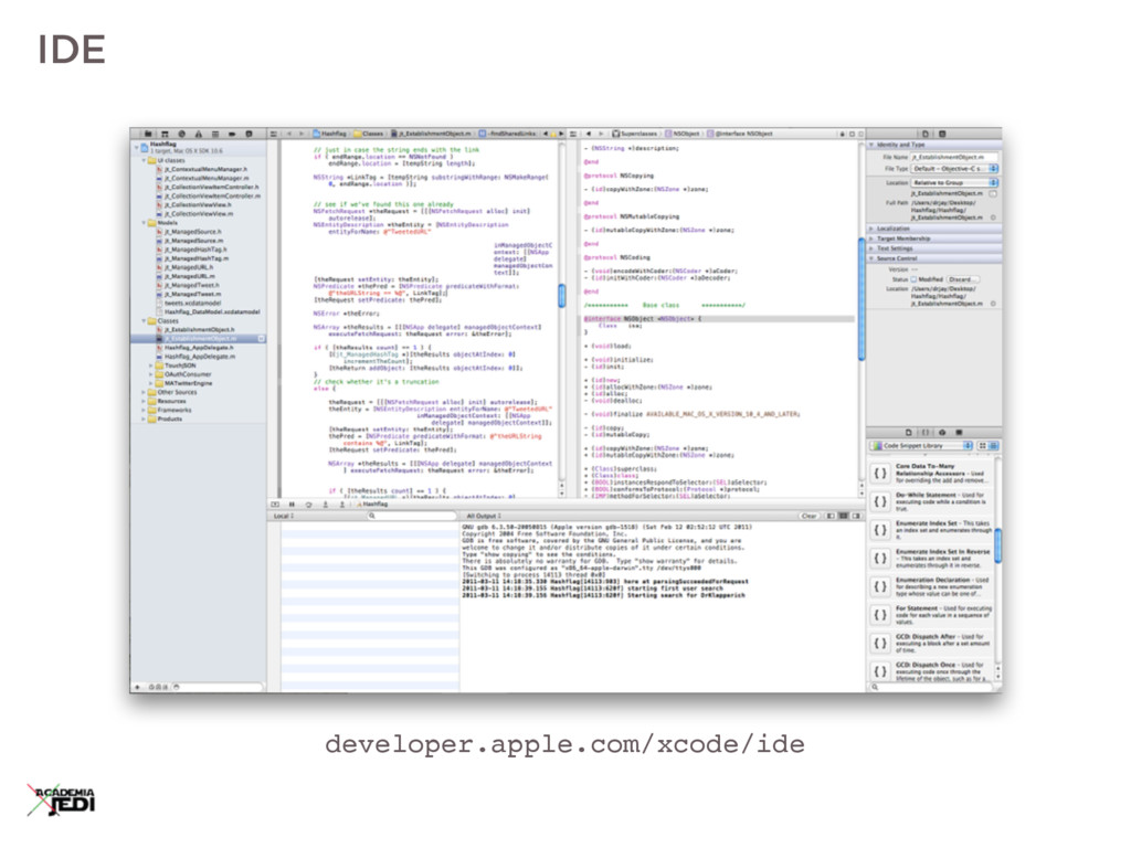 IDE developer.apple.com/xcode/ide