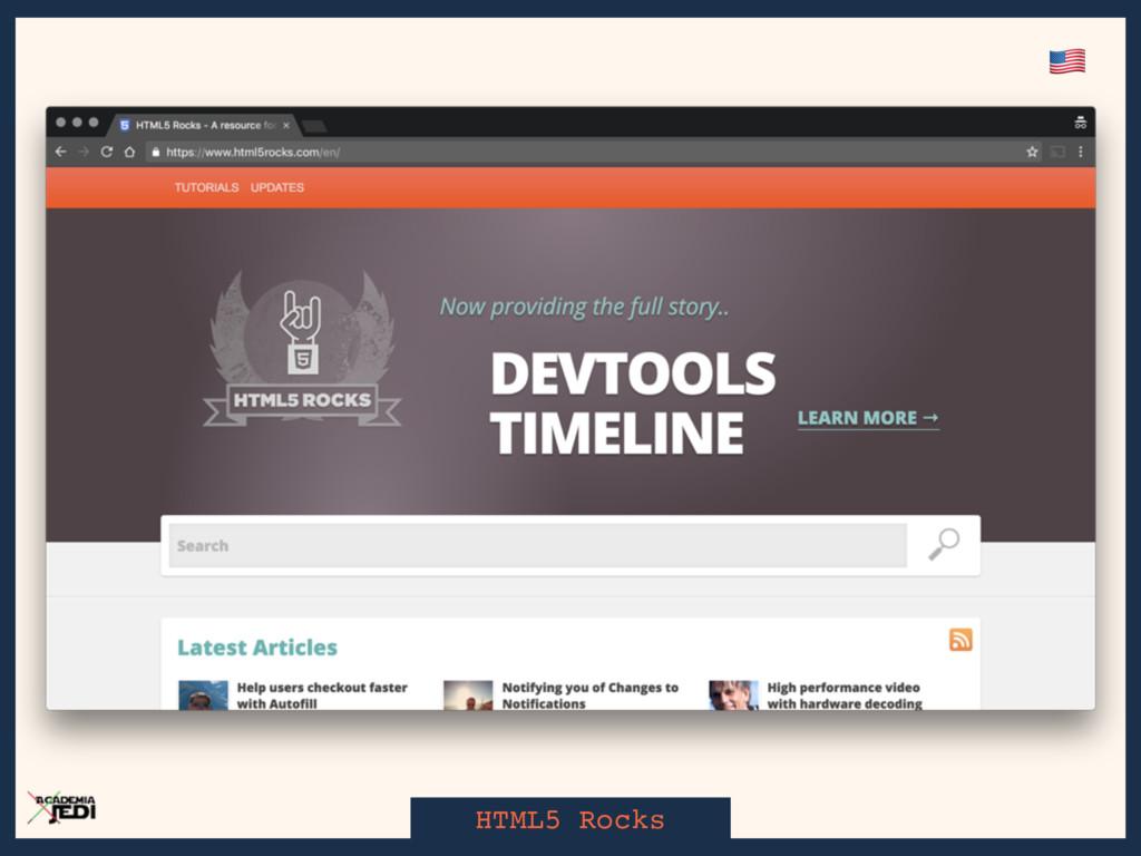 HTML5 Rocks '